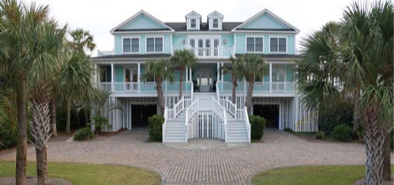 Isle of Palms Rentals with an Elevator