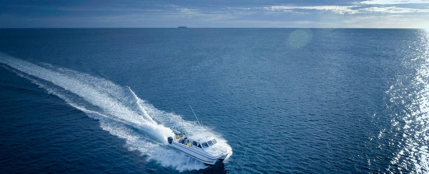 fishing charter in the ocean