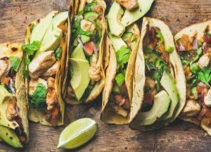 tacos at a Charleston restaurant