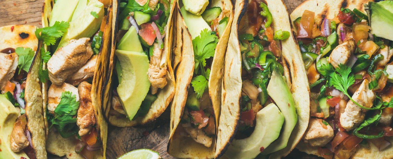 tacos at a restaurant on sullivans island