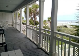 porch and rocking chairs at 906 ocean boulevard