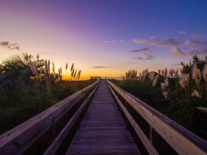 Sunrise over the Isle of Palms