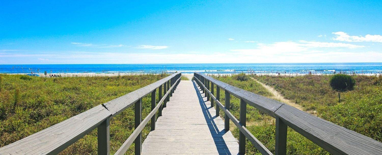 Boardwalk on Isle of Palms